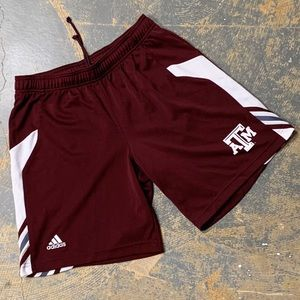 Adidas Texas A&M Shorts NCAA Big 12 Aggies M